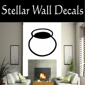 Western Indian Pottery NS022 Vinyl Decal Wall Art Sticker Mural SWD