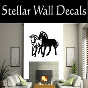 Western Pintaloosa NS001 Vinyl Decal Wall Art Sticker Mural SWD