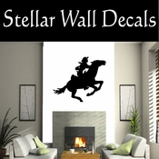 Western Pony Express NS001 Vinyl Decal Wall Art Sticker Mural SWD