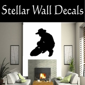 Western Prospector NS001 Vinyl Decal Wall Art Sticker Mural SWD