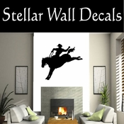 Western Rodeo NS001 Vinyl Decal Wall Art Sticker Mural SWD