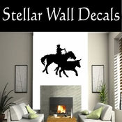 Western Rodeo NS002 Vinyl Decal Wall Art Sticker Mural SWD
