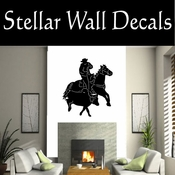 Western Rodeo NS003 Vinyl Decal Wall Art Sticker Mural SWD