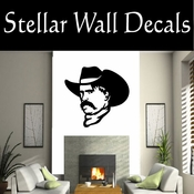 Western Sam Elliot NS003 Vinyl Decal Wall Art Sticker Mural SWD