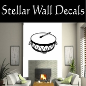Western Tom Tom NS001 Vinyl Decal Wall Art Sticker Mural SWD