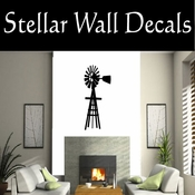 Western Windmill NS001 Vinyl Decal Wall Art Sticker Mural SWD