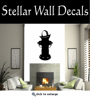 Fire Hydrant NS001 Vinyl Decal Wall Art Sticker Mural SWD