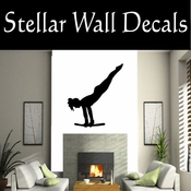 Gymnastics NS001 Vinyl Decal Wall Art Sticker Mural SWD