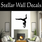 Gymnastics NS002 Vinyl Decal Wall Art Sticker Mural SWD