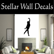 Gymnastics NS003 Vinyl Decal Wall Art Sticker Mural SWD