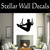 Gymnastics NS007 Vinyl Decal Wall Art Sticker Mural SWD