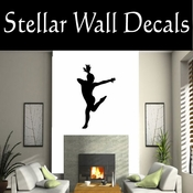 Gymnastics NS008 Vinyl Decal Wall Art Sticker Mural SWD