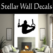Gymnastics NS009 Vinyl Decal Wall Art Sticker Mural SWD