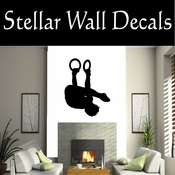 Gymnastics NS010 Vinyl Decal Wall Art Sticker Mural SWD