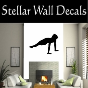 Gymnastics NS012 Vinyl Decal Wall Art Sticker Mural SWD