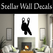 Gymnastics NS013 Vinyl Decal Wall Art Sticker Mural SWD