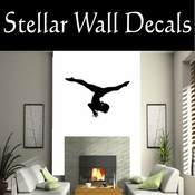 Gymnastics NS017 Vinyl Decal Wall Art Sticker Mural SWD