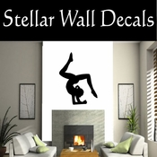 Gymnastics NS018 Vinyl Decal Wall Art Sticker Mural SWD