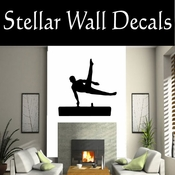 Gymnastics NS020 Vinyl Decal Wall Art Sticker Mural SWD