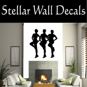 Gymnastics NS023 Vinyl Decal Wall Art Sticker Mural SWD