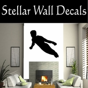 Gymnastics NS024 Vinyl Decal Wall Art Sticker Mural SWD