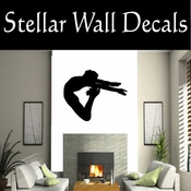 Gymnastics NS026 Vinyl Decal Wall Art Sticker Mural SWD