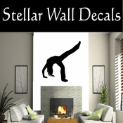 Gymnastics NS028 Vinyl Decal Wall Art Sticker Mural SWD