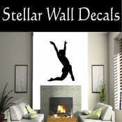 Gymnastics NS032 Vinyl Decal Wall Art Sticker Mural SWD