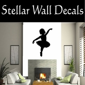 Ballerina NS003 Vinyl Decal Wall Art Sticker Mural SWD