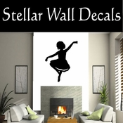 Ballerina NS004 Vinyl Decal Wall Art Sticker Mural SWD