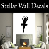Ballerina NS005 Vinyl Decal Wall Art Sticker Mural SWD