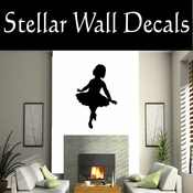 Ballerina NS006 Vinyl Decal Wall Art Sticker Mural SWD