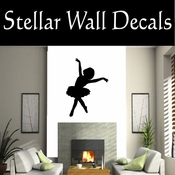 Ballerina NS007 Vinyl Decal Wall Art Sticker Mural SWD