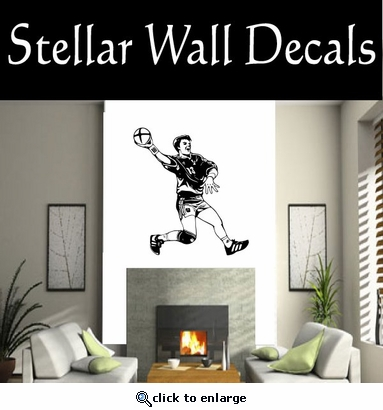 Soccer Futball Running Kicking Kick Score Goal Goalie Players CDS150 Sports Vinyl Wall Decal - Wall Mural - Car Sticker  SWD
