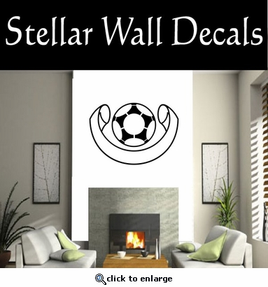 Soccer Futball Running Kicking Kick Score Goal Goalie Players CDS185 Sports Vinyl Wall Decal - Wall Mural - Car Sticker  SWD