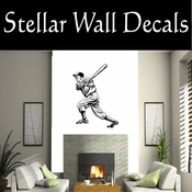 Baseball Throwing Hitting Pitching Batting Catching Sliding Swinging CDS002 Sport Sports Wall or Car Vinyl Decal Sticker Mural SWD