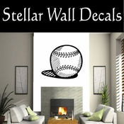 Baseball Ball Softball Throwing Hitting Pitching Batting Catching Sliding Swinging CDS059 Sport Sports Wall or Car Vinyl Decal Sticker Mural SWD
