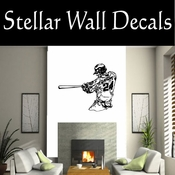 Baseball Throwing Hitting Pitching Batting Catching Sliding Swinging CDS078 Sport Sports Wall or Car Vinyl Decal Sticker Mural SWD