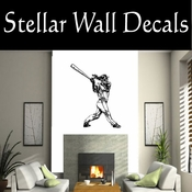Baseball Throwing Hitting Pitching Batting Catching Sliding Swinging CDS082 Sport Sports Wall or Car Vinyl Decal Sticker Mural SWD