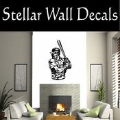Baseball Throwing Hitting Pitching Batting Catching Sliding Swinging CDS090 Sport Sports Wall or Car Vinyl Decal Sticker Mural SWD