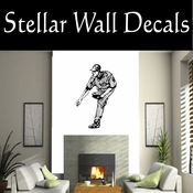 Baseball Throwing Hitting Pitching Batting Catching Sliding Swinging CDS097 Sport Sports Wall or Car Vinyl Decal Sticker Mural SWD