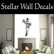 Baseball Throwing Hitting Pitching Batting Catching Sliding Swinging CDS113 Sport Sports Wall or Car Vinyl Decal Sticker Mural SWD