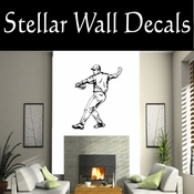 Baseball Throwing Hitting Pitching Batting Catching Sliding Swinging CDS116 Sport Sports Wall or Car Vinyl Decal Sticker Mural SWD