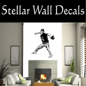Baseball Throwing Hitting Pitching Batting Catching Sliding Swinging CDS149 Sport Sports Wall or Car Vinyl Decal Sticker Mural SWD