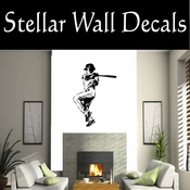 Baseball Throwing Hitting Pitching Batting Catching Sliding Swinging CDS150 Sport Sports Wall or Car Vinyl Decal Sticker Mural SWD