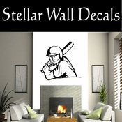 Baseball Throwing Hitting Pitching Batting Catching Sliding Swinging CDS167 Sport Sports Wall or Car Vinyl Decal Sticker Mural SWD