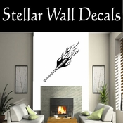 Baseball Flames Throwing Hitting Pitching Batting Catching Sliding Swinging CDS174 Sport Sports Wall or Car Vinyl Decal Sticker Mural SWD