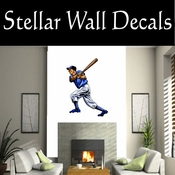 Baseball Throwing Hitting Pitching Batting Catching Sliding Swinging CDSColor055 Sport Sports Wall or Car Vinyl Decal Sticker Mural SWD