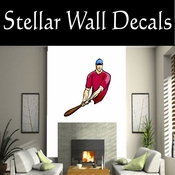 Baseball Throwing Hitting Pitching Batting Catching Sliding Swinging CDSColor111 Sport Sports Wall or Car Vinyl Decal Sticker Mural SWD