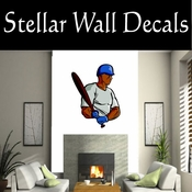 Baseball Throwing Hitting Pitching Batting Catching Sliding Swinging CDSColor113 Sport Sports Wall or Car Vinyl Decal Sticker Mural SWD